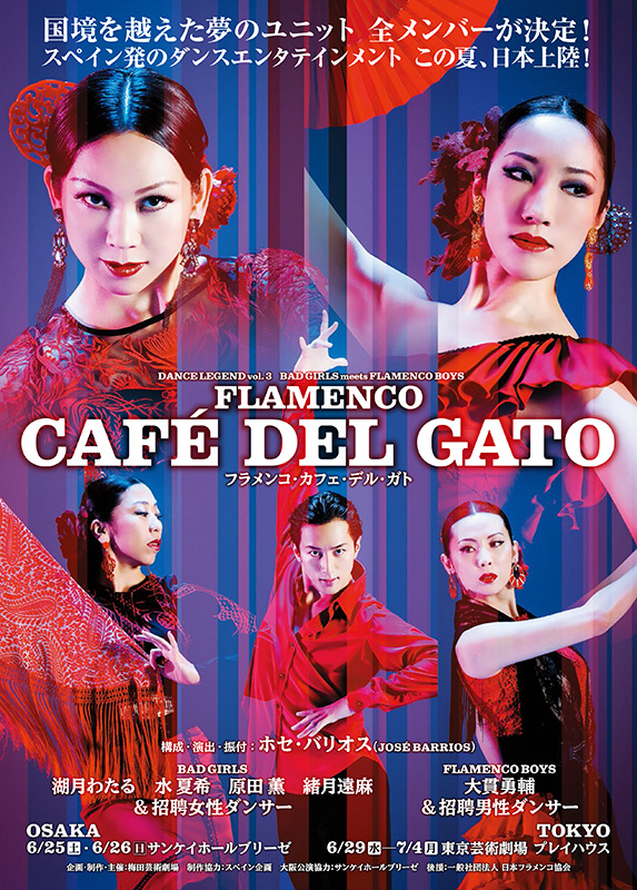 DANCE LEGEND vol.3 【FLAMENCO  CAFÉ DEL GATO】